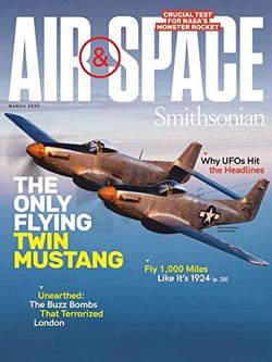 Air and Space Magazine Cover