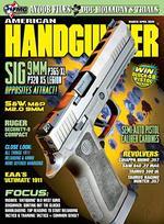 American Handgunner Magazine Cover