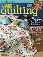 American Patchwork and Quilting Magazine Cover