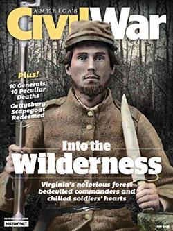 America's Civil War Magazine Cover