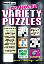 Approved Variety Puzzles Magazine Cover