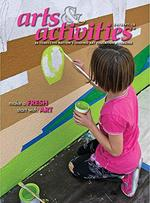 Arts and Activities Magazine Cover
