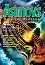 Asimovs Science Fiction Magazine Cover