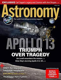 Astronomy Magazine Cover