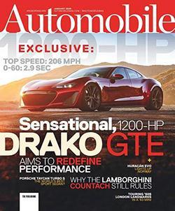 Automobile Magazine Cover