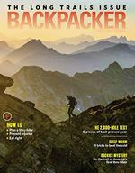 Backpacker Magazine Cover