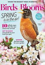 Birds and Blooms Magazine Cover