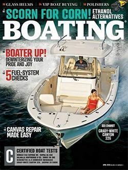 Boating Magazine Cover