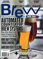 Brew Your Own Magazine Cover