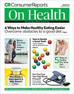 Consumer Reports On Health Magazine Cover
