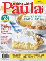 Cooking With Paula Deen Magazine Cover