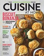 Cuisine at Home Magazine Cover