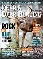 Deer and Deer Hunting Magazine Cover
