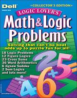 Dell Math and Logic Problems Magazine Cover