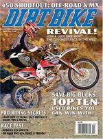 Dirt Bike Magazine Cover