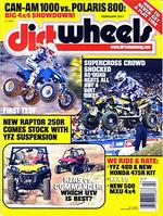 Dirt Wheels Magazine Cover