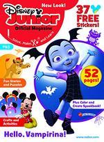 Disney Junior Magazine Cover