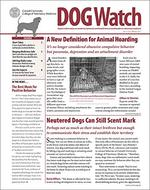DogWatch Magazine Cover