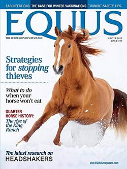Equus Magazine Cover