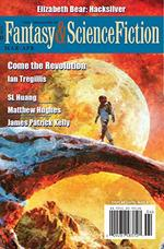 Fantasy and Science Fiction Magazine Cover