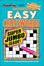 Favorite Easy Crosswords Magazine Cover
