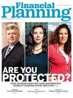 Financial Planning Magazine Cover