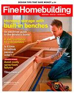 Fine Homebuilding Magazine Cover