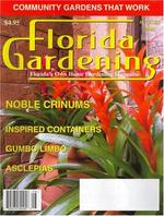 Florida Gardening Magazine Cover