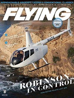 Flying Magazine Cover