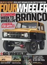 Four Wheeler Magazine Cover
