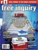 Free Inquiry Magazine Cover