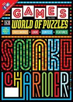 Games World of Puzzles Magazine Cover