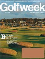 Golfweek Magazine Cover