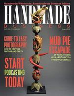 Handmade Business Magazine Cover