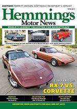 Hemmings Motor News Magazine Cover