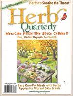 Herb Quarterly Magazine Cover