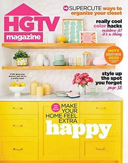 HGTV Magazine Cover