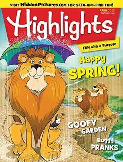 Highlights for Children Magazine Cover