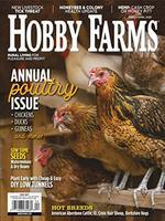 Hobby Farms Magazine Cover
