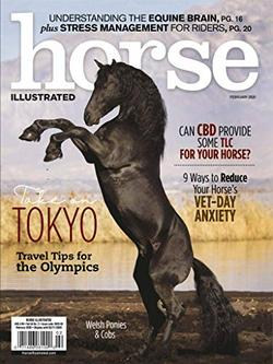 Horse Illustrated Magazine Cover