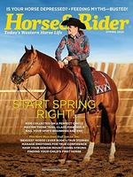 Horse and Rider Magazine Cover