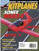 Kitplanes Magazine Cover