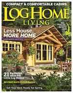 Log Home Living Magazine Cover