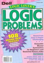 Logic Lovers Logic Problems Magazine Cover