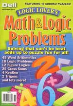 Logic Lovers Math and Logic Problems Magazine Cover
