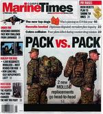 Marine Corps Times Magazine Cover