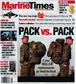 Marine Corps Times Magazine Cover