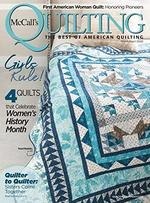McCall's Quilting Magazine Cover