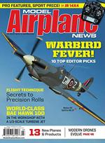 Model Airplane News Magazine Cover