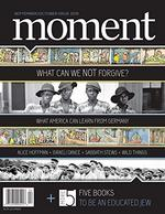 Moment Magazine Cover